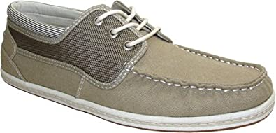 b58e1e8d62 GBX Mens Casual Oxford Shoes Size 9 M 134219 Natural Canvas