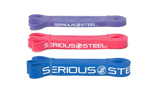 Serious Steel Fitness Starter Resistance Band & Crossfit Set