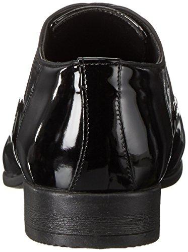 Tamboga Herren 3008-R Oxford Schwarz (Black 01)