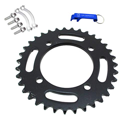 TC-Motor 420 76mm 35 Tooth Rear Sprocket For Chinese 50cc 70cc 90cc 110cc 125cc 140cc 150cc 160cc 170cc 190cc Pit Dirt Motor Bike Motorcycle