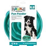 Outward Hound Fun Feeder Teal Dog Toy
