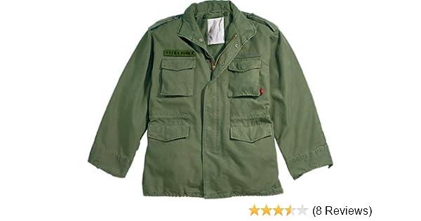 Amazon.com  VINTAGE M-65 FIELD JACKET w LINER - OLIVE DRAB 670d22552d3