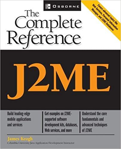 J2ME: The Complete Reference: 9780072227109: Computer Science Books