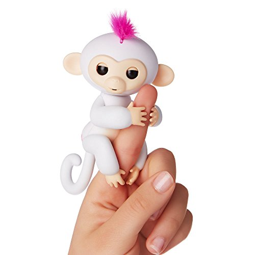 image Wow Wee Fingerlings - bébé sans interactif, 12 cm, blanc
