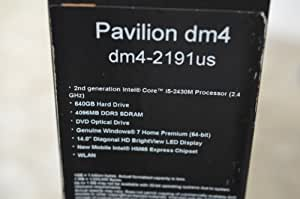 HP Pavilion dm4-2191us 14-Inch Laptop with  Core i5-2430M Processor  with Turbo Boost Technology up to 3.00 GHz