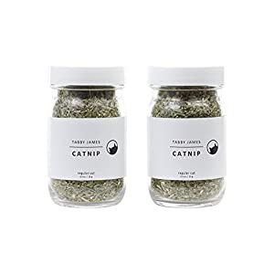 Tabby James Premium Organic Catnip Regular Cut 2 Pack
