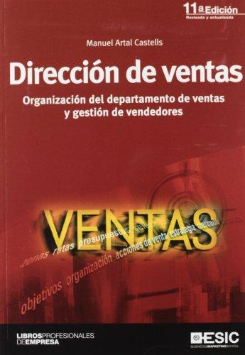 DIRECCION DE VENTAS 11'ED ORGANIZACION DEPARTAMENTO DE VENTAS