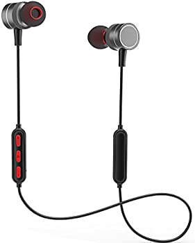 XuCoo Bluetooth Wireless Sport In-Ear IPX6Earphones w/Mic