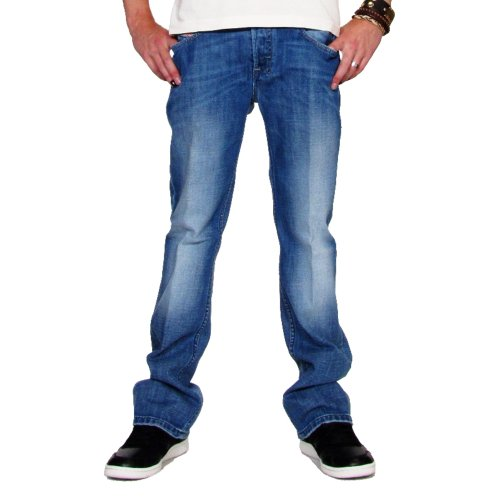 Diesel Men's Zatiny Slim Micro-Bootcut Jean 008AT