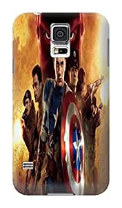 Amy LaGrasso Best cool Lovely TPU skin back cover case for Samsung Galaxy s5 (Avengers Captain America)