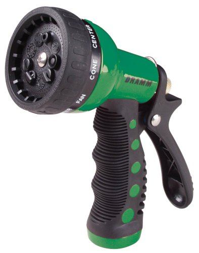 9 Pattern Revolver Spray Gun Nozzle - Color: Green