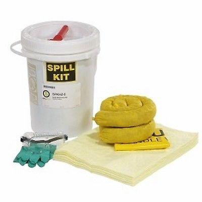 - SpillTech SPKHZ-5 23 Piece HazMat 5 gallon Spill Kit