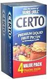 Sure-Jell Certo Premium Liquid Fruit Pectin Twin Pack Value