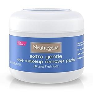 Neutrogena Extra Gentle Eye Makeup Remover Pads, Sensitive Skin 30 Count