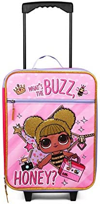 Fab Starpoint LOL Surprise Buzz Honey Pink Pilot Case Luggage