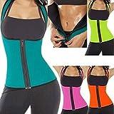 Digital baby Women Sweat Body Waist Shaper(Black,XL)