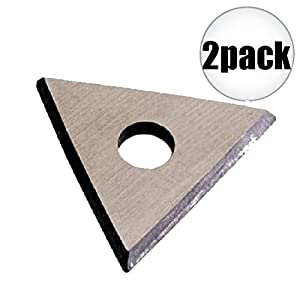 """Bahco 449 1"""" Replacement Triangle Blade 2-Pack"""