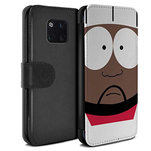eSwish PU Leather Wallet Flip Case/Cover for Huawei Mate 20 Pro/Chef Design/Funny South Park Inspired Collection