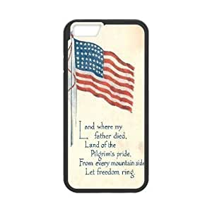 American Flag Custom Case Cover For Apple Iphone 4/4S diy phone case ygtg-774660