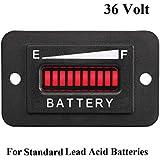 36 Volt LED Battery Indicator Meter Gauge for Golf Cart