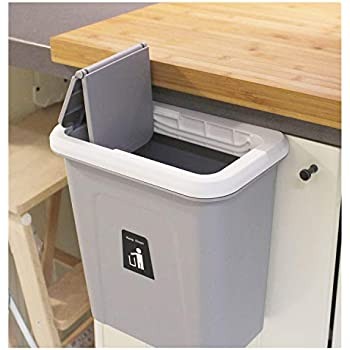 Amazon Com Hanging Trash Bin Garbage Can Waste Storage