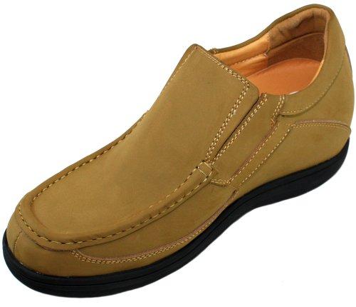 G-CALTO 07011-8,13 (3,2)-Tappetto cm, altezza aumentare ascensore-Scarpe in Nubuck, colore: marrone
