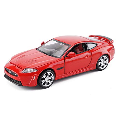 Chef Vehicle Playsets Red Model Car Jaguar XKR-S Model 1:32 Proportional Die-Casting Model Toy Collection Children's Gifts ()
