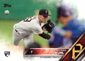 2016 Topps Update Baseball #US96 Chad Kuhl Rookie Card ()