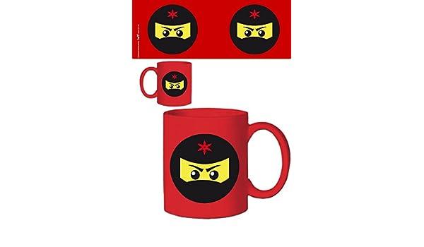 1art1 109093 Gaming Ninja Icon - Taza de café (cerámica ...