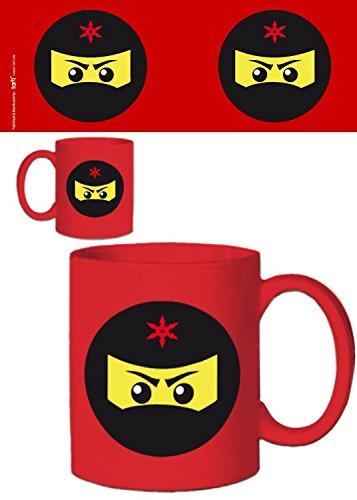 1art1 Gaming, Icono Ninja, Rojo Taza Foto (9x8 cm) Y 1x ...