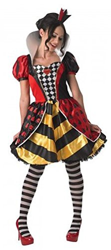Delle Costume Cuore Alice Paese Donna Regina Di Meraviglie Nel BRqzxR0fw