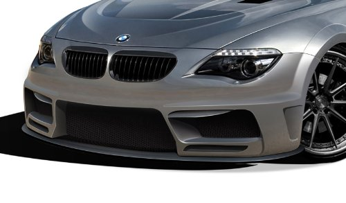 (Aero Function ED-MTP-383 AF-2 Wide Body Front Lip Under Air Dam Spoiler (GFK) - 1 Piece Body Kit - Compatible For BMW 6 Series 2004-2010)