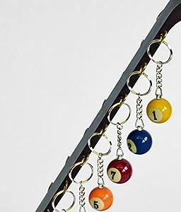 Billard-Schlüsselanhänger 25 mm Nr. 10