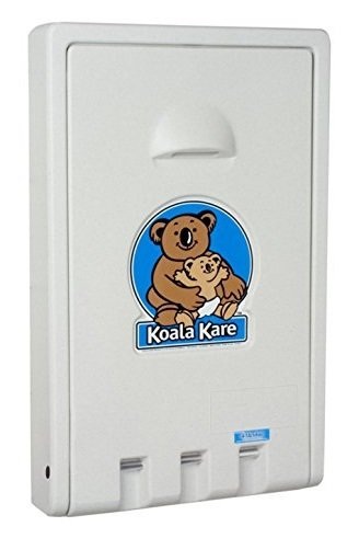 New KB101 Koala Vertical Surface Mount Changing Station (Grey) by KOALA