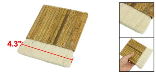 Faux Fur Hair Bamboo Handle Paint Brush 5.5 Inch Length