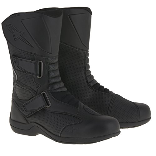 Street Motorcycle Boot Accessories (Alpinestars Roam 2 Air Men's Street Motorcycle Boots - Black / 43)