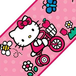 - Sanrio Hello Kitty World Set of 4 Self-Stick Wall Borders