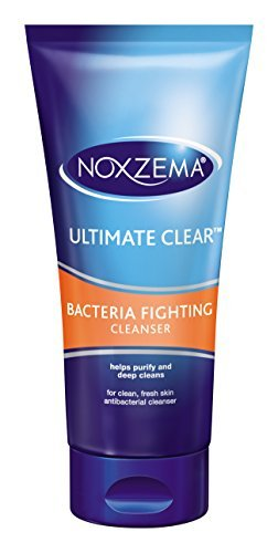 Noxzema Triple Clean Anti-Bacterial Lather Cleanser 177 ml Tube by Noxzema - Cleanser Tube