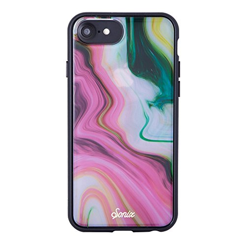 Sonix Agate Pink Marble Cell Phone Case [Military Drop Test Certified] Protective Marble Case for Apple iPhone 6, 6S, 7, 8