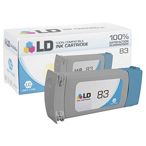 LD © Remanufactured Replacement Ink Cartridge for Hewlett Packard C4944A (HP 83) Light (C4944a Light)