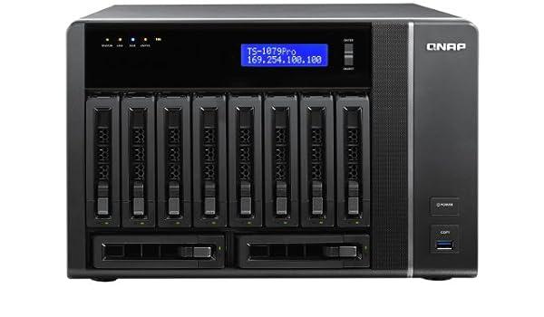 QNAP TS-1079 Pro 40TB Ethernet Negro - Unidad Raid (40 TB, SATA ...