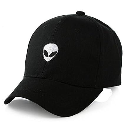 488c9868d31 Generic Black   2017 New Gorras Suede Baseball Cap Aliens Outstar Saucer  Space E.T UFO Fans