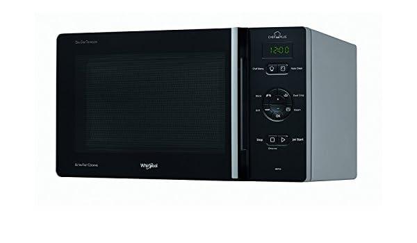 Whirlpool chefplus MCP 346 SL Horno Microondas con grill Capacidad 25 L negro, plata: Amazon.es: Hogar