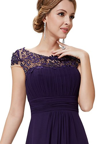 Ever-Pretty HE09993NB12 - Vestido para mujer Morado