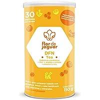 DFN Tea Flor de Jaguar, té en polvo con cúrcuma + jengibre + probióticos + vitaminas C y zinc 150g