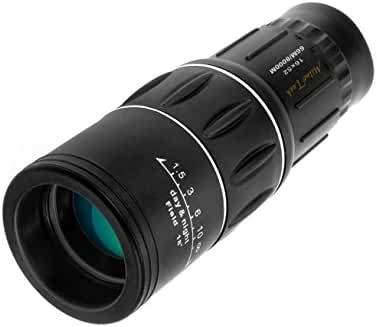 Miluo Tech 16x52 Dual Focus Monocular Telescope / Monocular Scope for Hunting, Camping, Surveillance