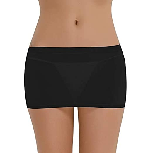 1799522606d YiZYiF Women s Mesh Transparent Sheer Short Dresses Tight Hip Mini Skirts  Black
