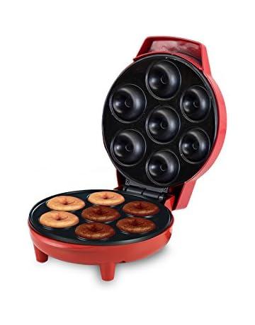 Beper 90.601 Donut 90.601-Máquina para Hacer Donuts, 700 W, Rojo