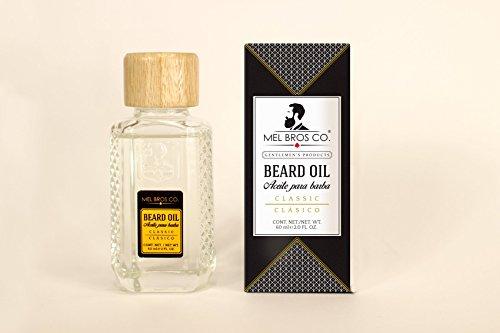 Aceite para la Barba Mel Bros Co de 60 ml con Jojoba