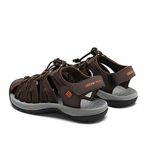Women's Sandals W PAIRS Adventurous Outdoor Brown DREAM 160912 Summer Blk Orange 5Sp0q